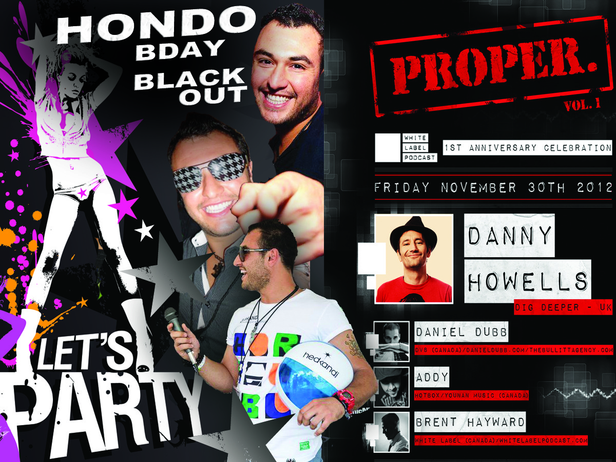 Danny Howells | Hondo Bday LOVE THIS CITY TV | Celebrating the 1 YEAR ANNIVERSARY OF THE WHITE LABEL