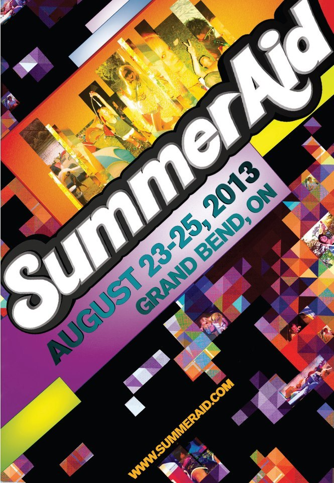 SummerAid Music Festival 2013 in Grand Bend, ON
