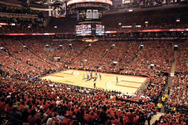 Orlando Magic v Toronto Raptors, Game 3