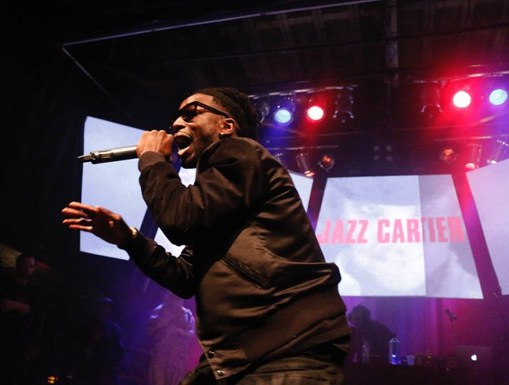 Jazz Cartier performing at the Phoenix Concert Theatre on Friday, February 5, 2016.