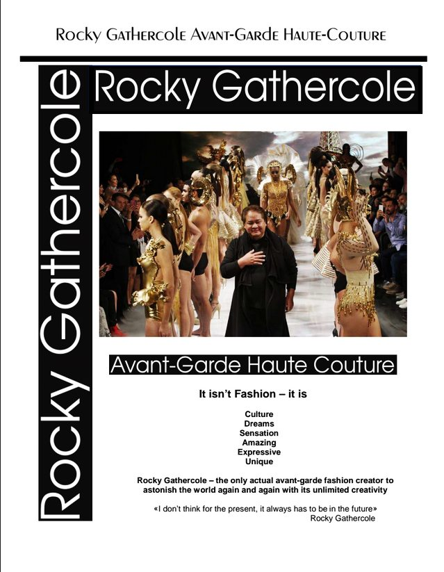 Rocky Gathercole First Time In Canada Fashion Show – The magician for the celebrities