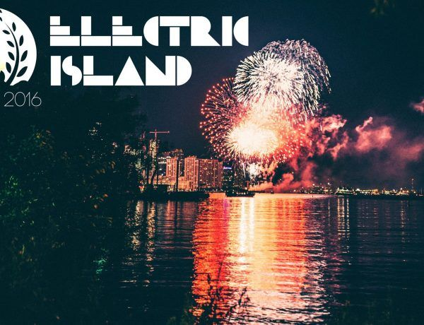 electric island toronto canada day