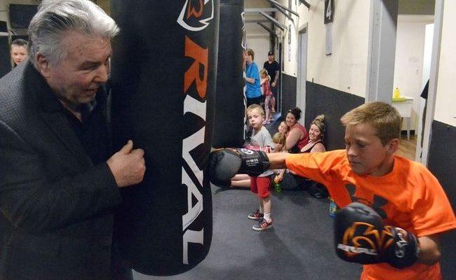 boxing legend George Chuvalo