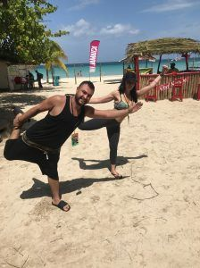 HONDO LOVE THIS CITY TV DOING YOGA JAMAICA