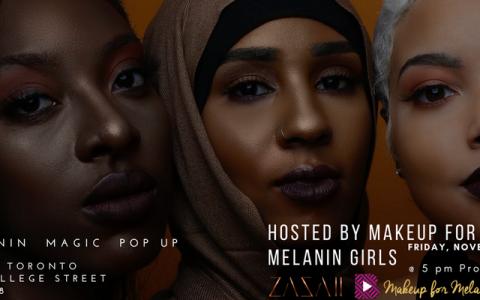 Make Up for Melanin Girls Hosts Pop Up Celebration