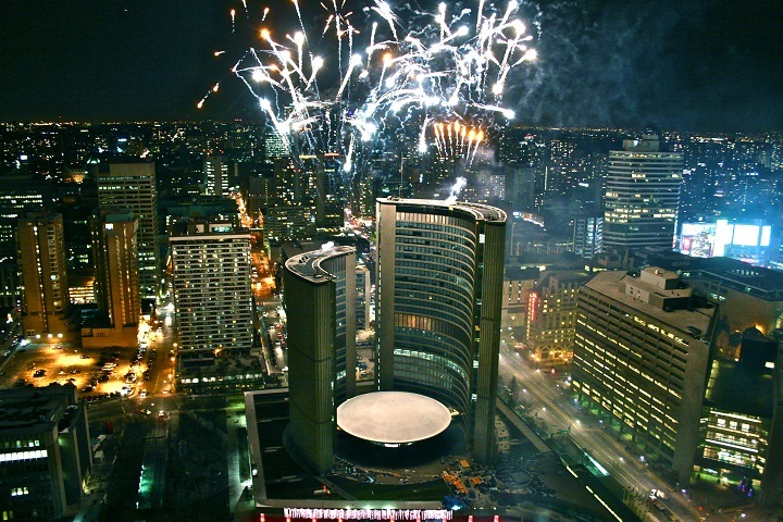 Biggest New Year's Eve Parties in Toronto